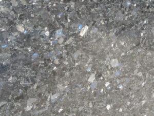Gray-blue Ukrainian labradorite - Galactic Blue