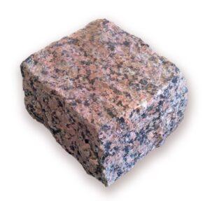 Red granite pavers — Maroon Black 10x10x5