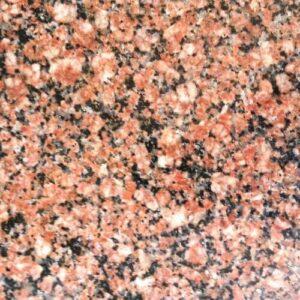 Red natural Ukrainian granite - Red Rose