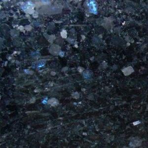 Black-blue-Ukrainian labradorite - Volga Blue